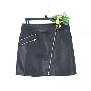 Express Mini Skirt with full front zip